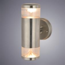 Бра уличное Arte Lamp Intrigo A8161AL-2SS