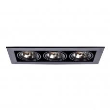 Встраиваемый светильник Arte Lamp Technika 2 A5930PL-3BK