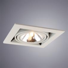 Встраиваемый светильник Arte Lamp Cardani A5949PL-1WH
