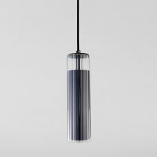 Подвесной светодиодный светильник Eurosvet Aliot 50187/1 LED чёрный