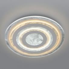 Светодиодная люстра Eurosvet Freeze 90209/1 белый