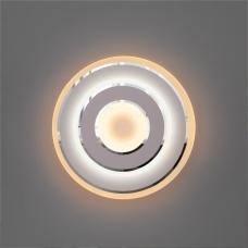 Светодиодное бра Eurosvet Contorni 90185/1 хром;белый