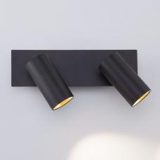 Светодиодное бра Eurosvet Fleur 20066/2 LED чёрный