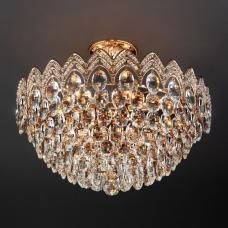 Хрустальная люстра Eurosvet Malvina 3649/6 золото
