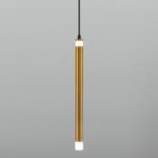 Подвесной светодиодный светильник Eurosvet Maestro 50133/1 LED чёрный
