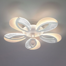 Светодиодная люстра Eurosvet Flake 90140/5 белый