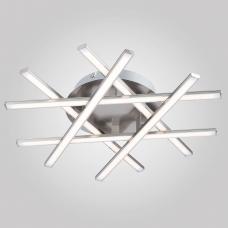 Светодиодная люстра Eurosvet Hi-tech 90021/6 сатинированный никель