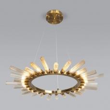 Подвесная люстра Bogate's Sole 557 золотая бронза