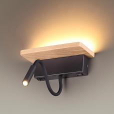 Светодиодное бра ODEON LIGHT WOODY 3868/8WL