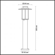 Уличный фонарь ODEON LIGHT MITO 4047/1F