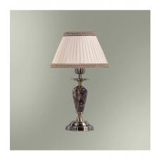 Настольная лампа с абажуром 3556 камень