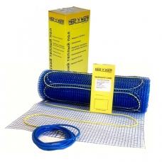 Теплый полHeat 'n' Warm ( Голландия ) 11 м2 нагревательный мат 1650 Ватт - 11,0 кв. м - монтаж в плиточный клей.Тип: двужильный матЭкран токоведущего кабеля изготовлен из меди. Сам кабель снабжен изоляцией из тефлона которая обладает усто..