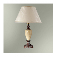 Настольная лампа с абажуром  29-56/8457