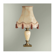 Настольная лампа с абажуром  24-25К/8122