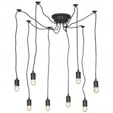 Потолочная люстра паук Lussole LGO LSP-9840