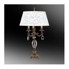 Настольная лампа с абажуром 44-45.56.13123БХ
