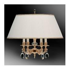 Светильник подвесной с абажуром 60-01.50/16123Х/5П