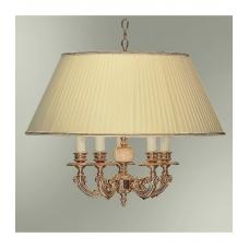 Светильник подвесной с абажуром 60-12.50/16122Ф/5П