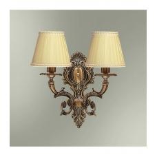 Настенный светильник предназначен для местного освещения в залах,  кабинетах, спальнях, но часто он играет роль основного источника  света,например, в прихожей или в коридоре. Бра укомплектовано шнуром с  вилкой и выключателем...