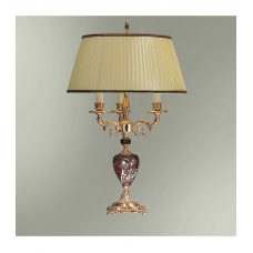 Настольная лампа с абажуром 44-12.57/2957Ф