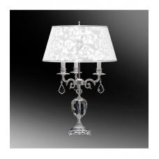 Настольная лампа с абажуром 44-45.01Х/2923СХ