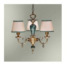Классическая люстра данного типа обычно используют для освещения комнаты площадью  до 15 кв.м Светильник подвешивается на цепи и крепится на крюк в  потолке. В стандартной комплектации общая высота светильника 80 см, по  желанию заказчика длина це..