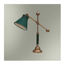 Настольная лампа с абажуром 21-69.59/3859