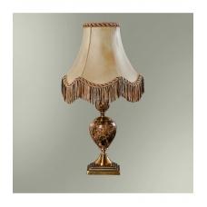 Настольная лампа с абажуром 24-20/8056М