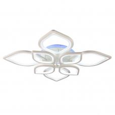 Светодиодная люстра с пультом 1269/4+4 WHT